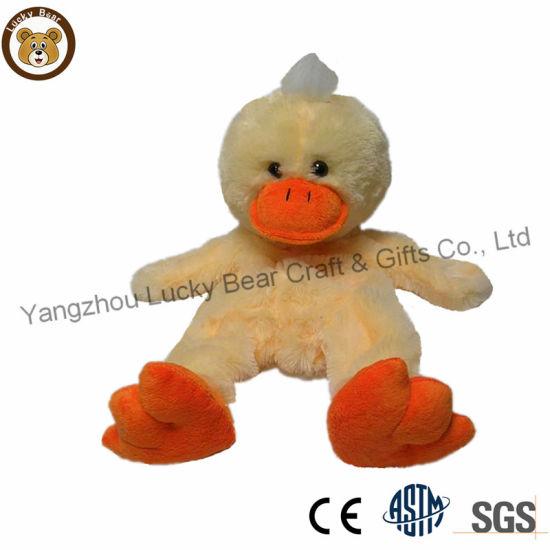 Promotional Plush Farm Animal Toy Custom Duck for Girls