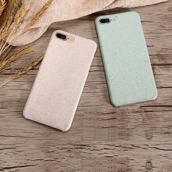 finest selection ee097 8471a China Eco-Friendly Wheat Straw Fiber Phone Protective Cover Mobile ...