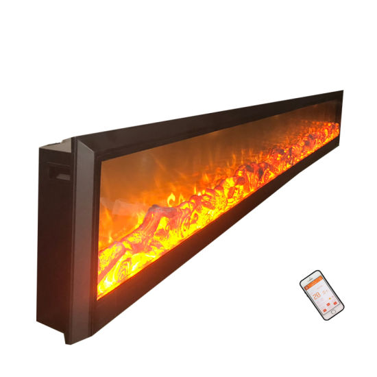 Cheap Good Quality 1500W Rapid Heating Electric Fireplace by China Supplier for Heating or Decoration (EMP-005) pictures & photos