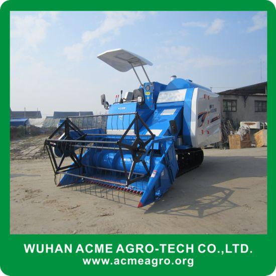China Good Quality Farming Equipment Mini Rice Combine