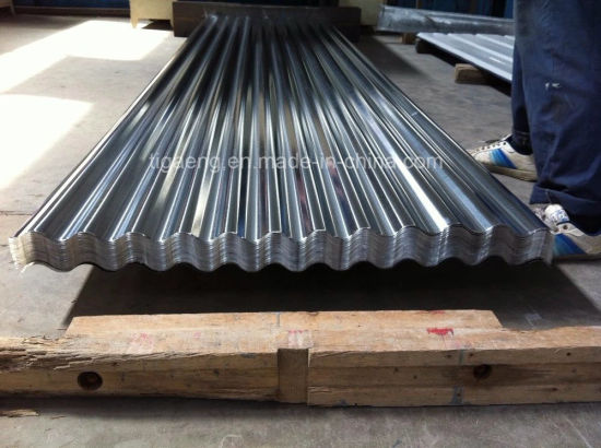 Hot Sale Zinc Galvanized Steel Sheet Roofing Material pictures & photos