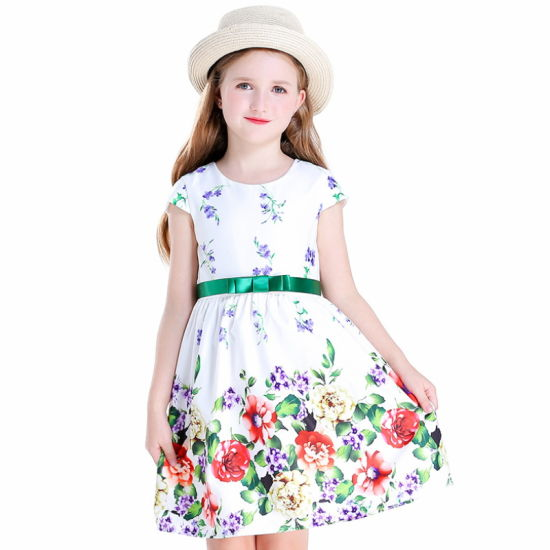 Party Wear Dresses One Piece for Girls Kid's Clothes
