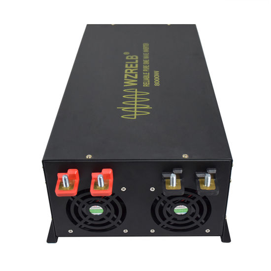 8000W DC to AC Home Use Pure Sine Wave Power Inverter High Quality with  Mosfet Protection Circuit