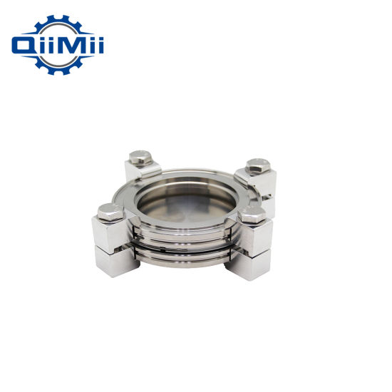 Vacuum Pipe Fittings ISO Flange with Clamp
