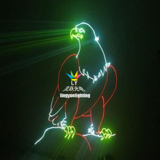 CE RoHS 2W Full Color RGB Animation Laser Light (LY-1002Z)