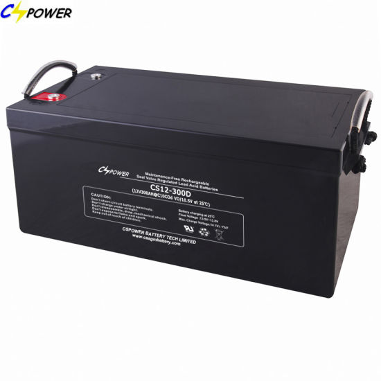 Maintenance Free 12V 300ah VRLA AGM Lead Acid Storage Battery