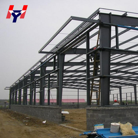 High Quality Easy Installation Prefabricated/Prefab Steel Beam Price pictures & photos
