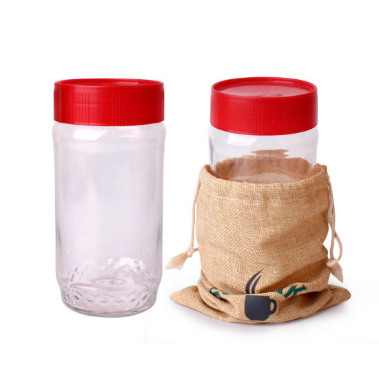 Wholesale 800ml Glass Coffee Container Glass Jar