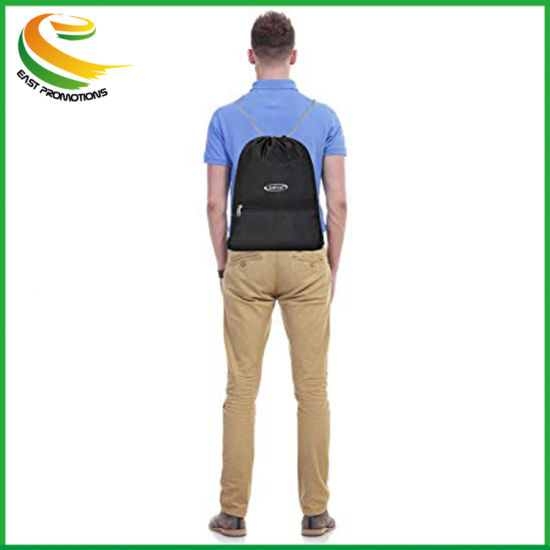 Drawstring Backpack Gymsack Gym Bag Rucksack for Adults and Teenagers Sports Bag School PE Bag