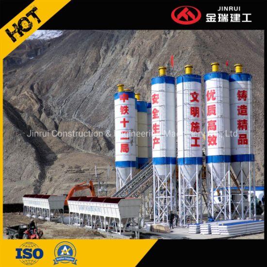 Concrete Batching Plant Best Portable Construction Machinery Construction Equipment Basing Planetary Mixer Hzs60