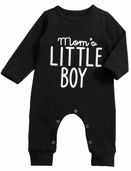 9ff38c7fd433 China Newborn Baby Boys Clothes Long Sleeve Romper Mom′s Little Boy ...