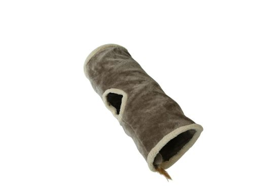 Cat Toy Soft Kitten Tunnel Portable Tunnel Foldable Cat Furniture