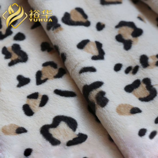 Manufacturer of Custom 100% Polyester Fabric Minky Soft Fabric for Toys Baby Blanket Soft