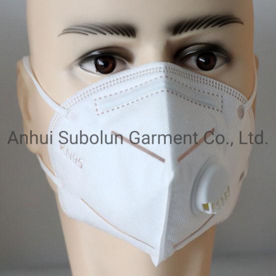 Disposable 5 Ply KN95 Face Mask Protective Non-Woven Face Mask