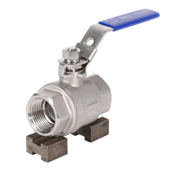 304 316 Threaded Stainless Steel Ball Valve pictures & photos
