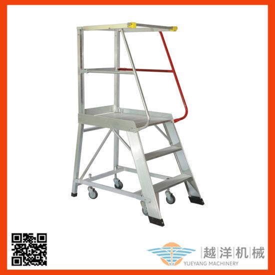 Workshop Use Aluminum Step Ladders Design Wholesale