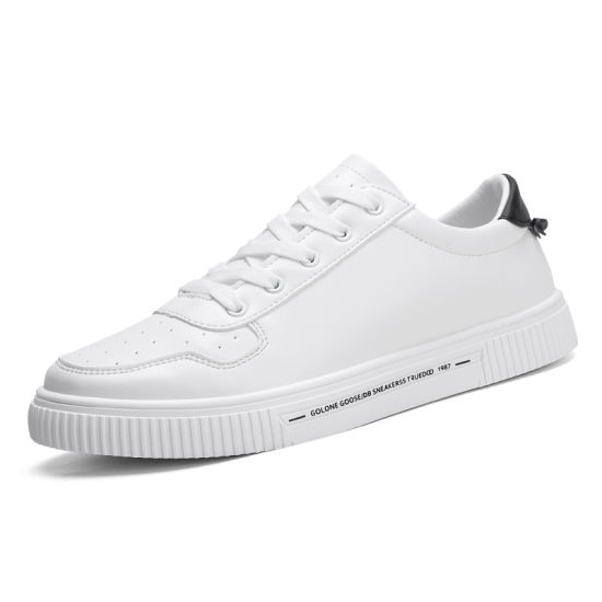 China Classic White Shoes Men Sneakers