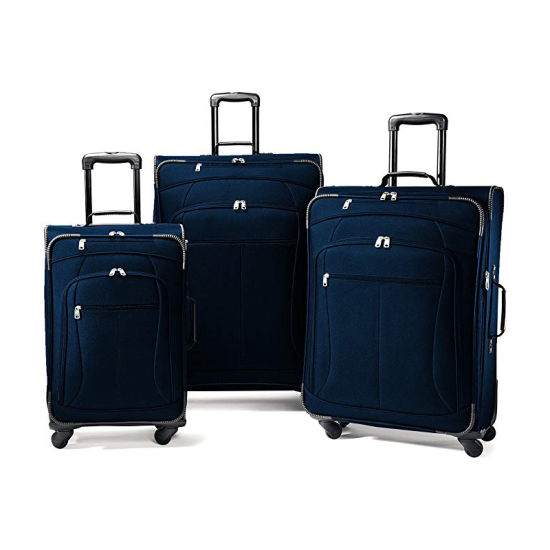 Carry-on Lightweight Waterproof Durable Trolley Oxford Luggage Set for Travel