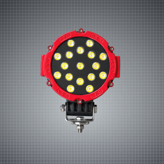 Vehicle Driving Spotlights 7inch 8inch Offroad Round LED Work Light