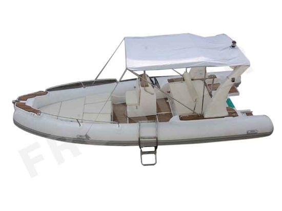 PVC Hypalon Rubber Dinghy Fiberglass Floor Diving Rigid Inflatable Floor Rib Boats