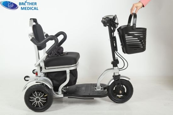 Electric Wheelchair Foldable Wheelchair Adjustable Wheel Chair for Disable