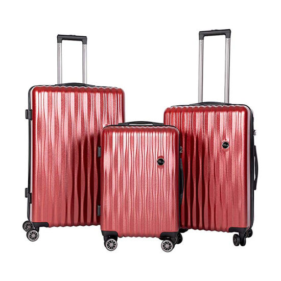 Carry-on Expandable Hardshell ABS Suitcase Portable Trolley Business Trip Luggage