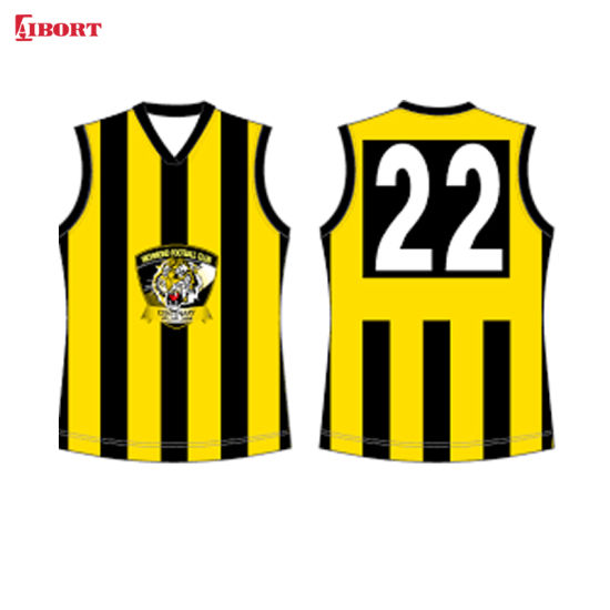 Aibort Sublimation Rugby Basketball Cycling Ball Sports Afl Jersey Singlet