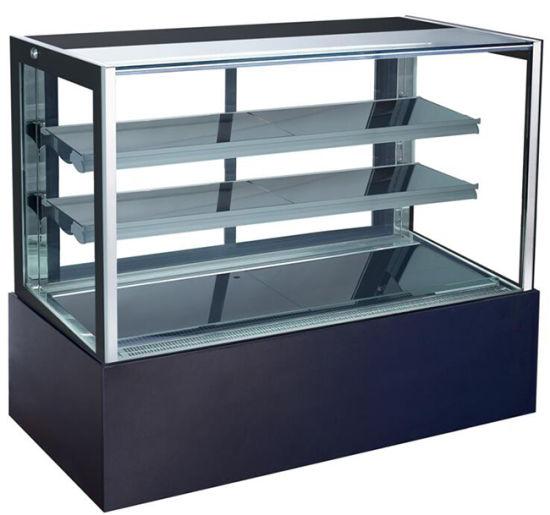 Dessert Chocolate Cabinet Commercial Display Refrigerator Cake Showcase for Bakery Shop (RL740V-M2)