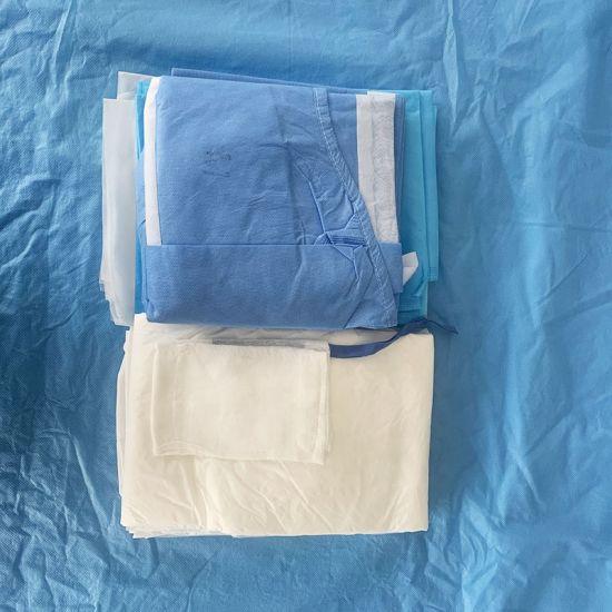 Disposable Laparotomy/Dental Kit/Implant/Ophthalmic/Orthopedics/Caesarean Section/Birth Pack SMS Sterile Universal Set
