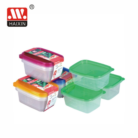 Plastic Food Container Food Box for Home Food Storage
