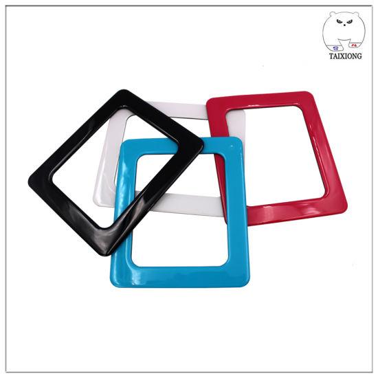 Different Color Custom Flexible Magnet Photo Frame Souvenir Magnetic Frame