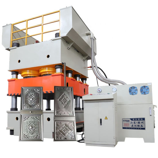 2000 Tons Steel Door Embossing Hydraulic Press for Sale