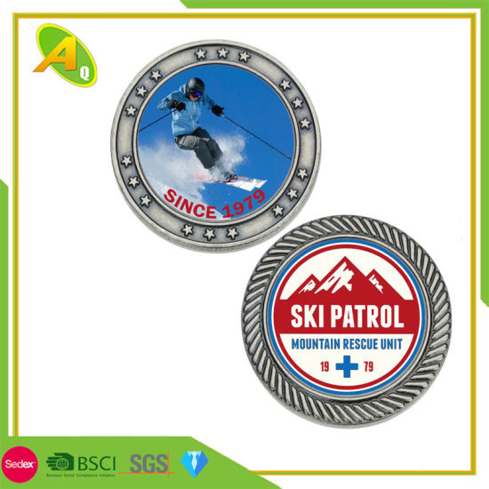 Promotion Great People Award Commander Challenge USA Flip France Replica British Souvenirs Coins (COIN-063)