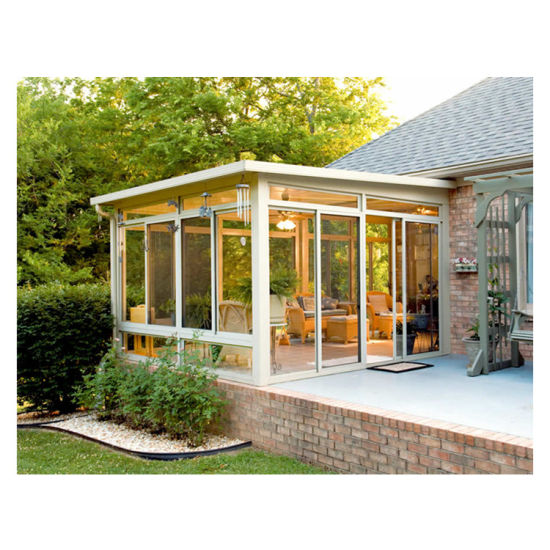 Outdoor Solarium Circular Winter Gardens Conservatory Natural Light Glass Tiny House Aluminum Balcony Sun Rooms