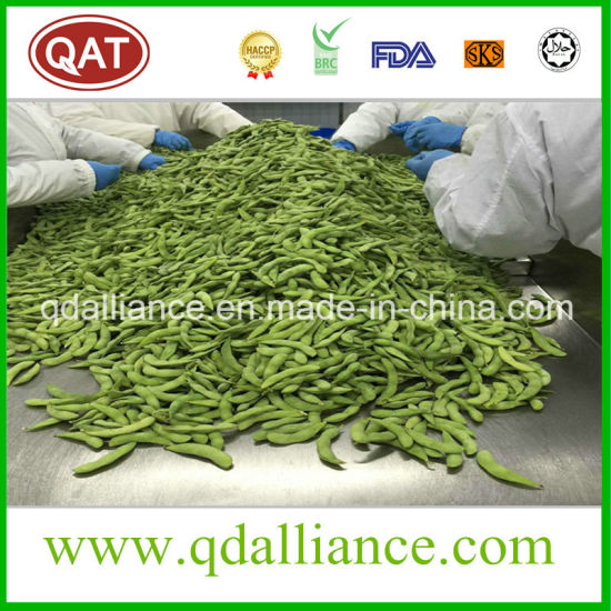 IQF Frozen None GMO Soybean with HACCP Brc Certification pictures & photos