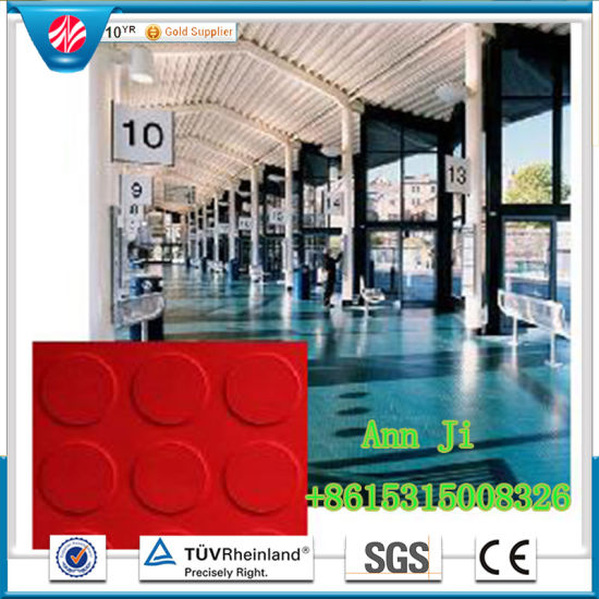 Supermarket Dedicated Rubber Flooring/Hospital Rubber Flooring pictures & photos