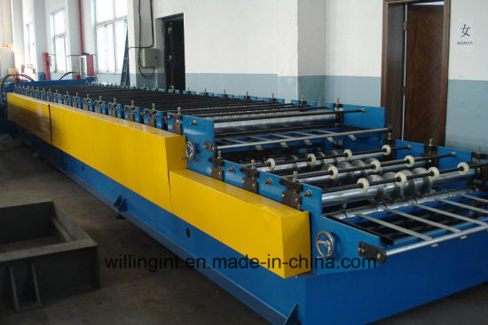 Hot Sales Double Layer Roll Forming Machine for Roof&Wall Machine pictures & photos