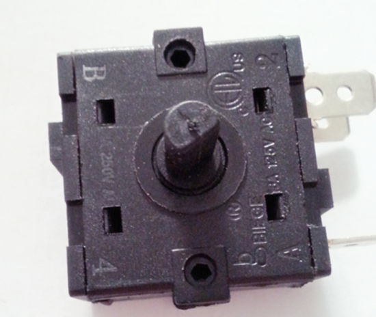 Three Push Bottons Electric Switch/Push Button Switch Fan pictures & photos