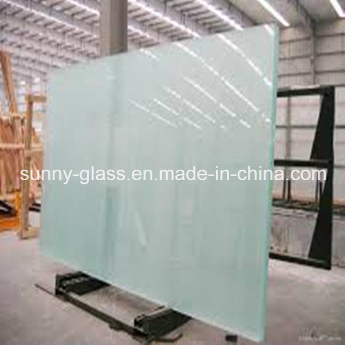 Low Iron Frosted Tempered Glass for Construction & Decoration pictures & photos