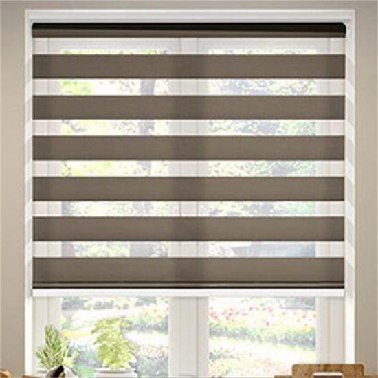 China Home Living Room Manual Blackout Zebra Blind - China Zebra ...