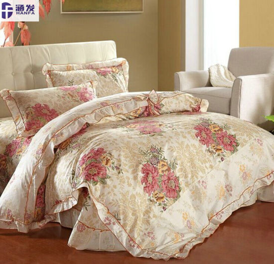 2015 New Design Lovely 100% Cotton Bedding Set