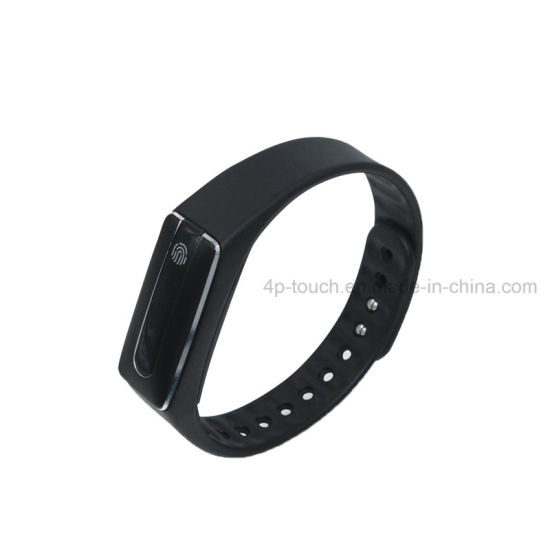 Long Standby Wristband Smart Silicone Bracelet with Fitness Tracker pictures & photos