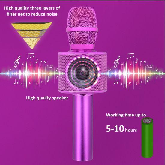 Wireless Portable Karaoke Microphone for Interviews