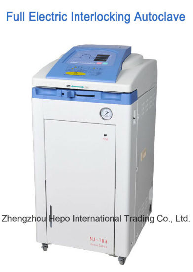 CE Certified Advanced Full Auto Steam Autoclave (MJ-78A) pictures & photos