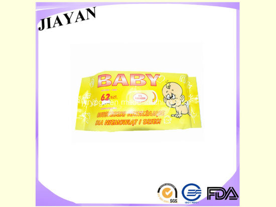 4colors Design Baby Ckeaning Tissue (62PCS)