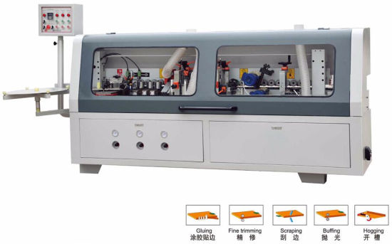 Semi-Automatic Woodworking Edge Banding Machine with PVC with Excellent Services Easy Operation Edge Banding Machine pictures & photos