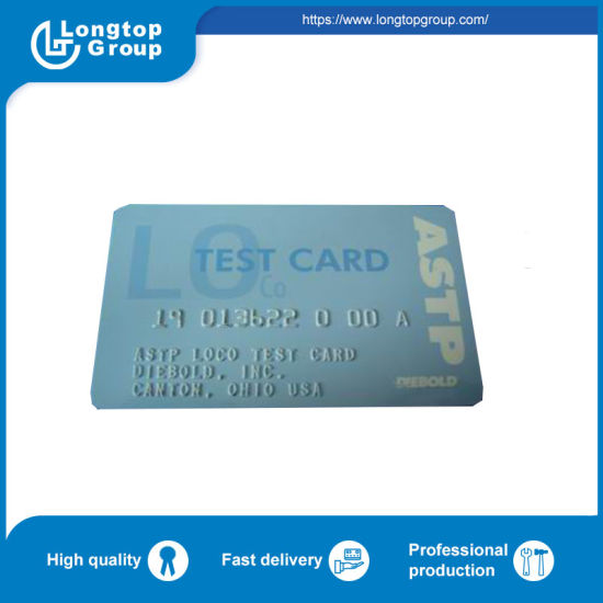 Diebold ATM Parts Test Credit Card 14A