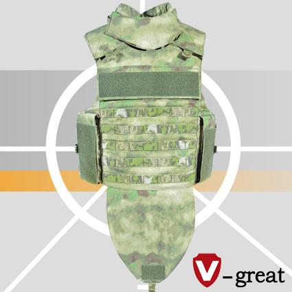 a-Tacs-Fg Full Protection Bulletproof Jacket 1000 Denier