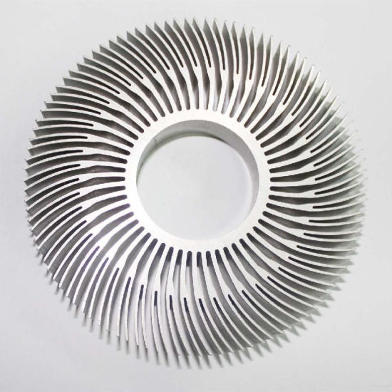 Aluminum Extruded Profile Heat Sink for Medical Equipment