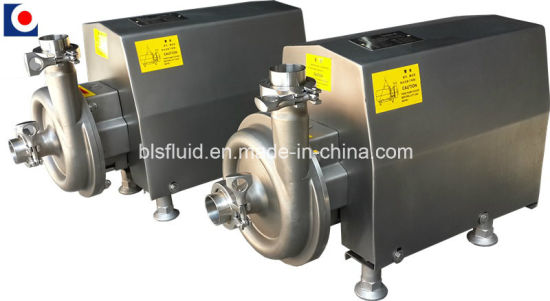 Food Grade Stainless Steel Electric Centrifugal Water Pump pictures & photos